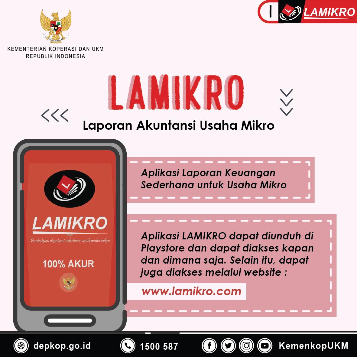 Lamikro, Aplikasi Laporan Keuangan Sederhana Untuk Usaha Mikro