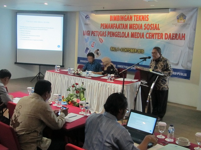 Media Center Daerah Wajib Pantau Aspirasi Masyarakat