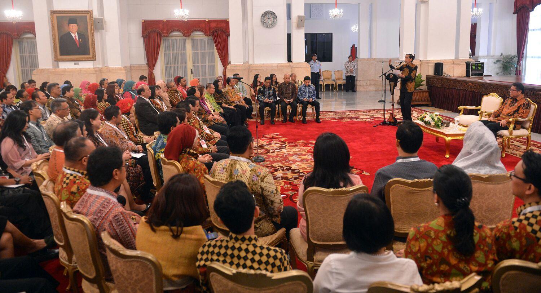 Presiden: Praktisi Humas Harus Membangun Narasi Positif