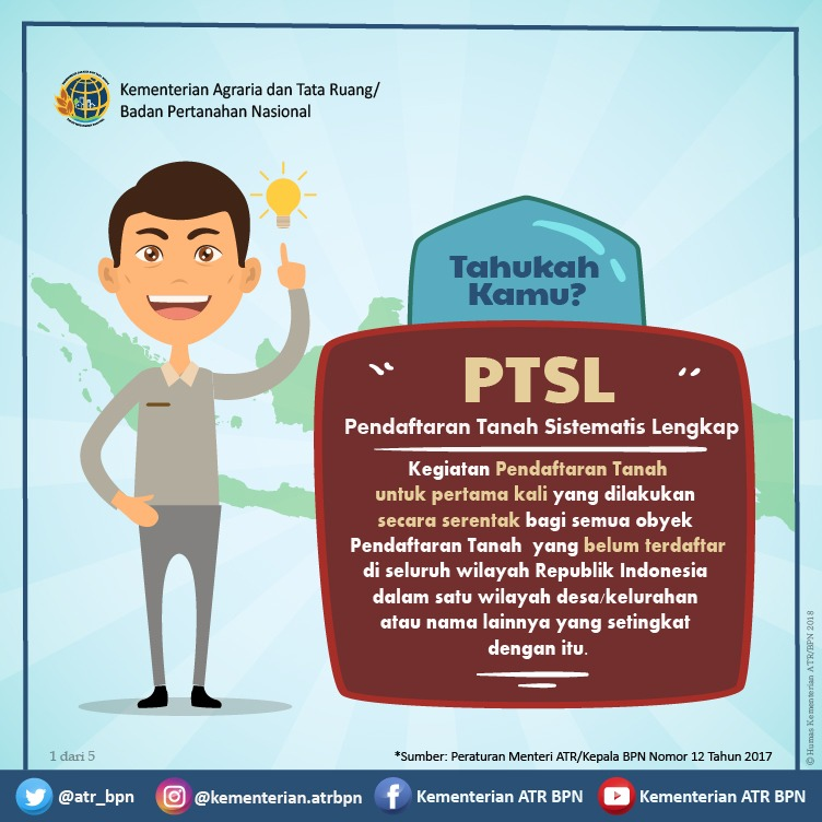 Program PTSL Pastikan Penyelesaian Sertifikasi Lahan Akan Sesuai Target