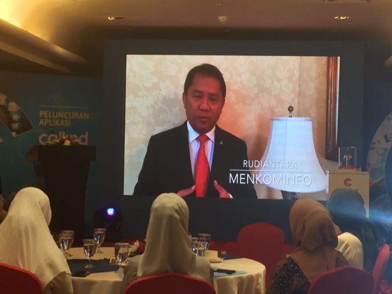 Apresiasi Karya Kartini Zaman Now, Menkominfo Ajak Gunakan Aplikasi Besutan Anak Negeri