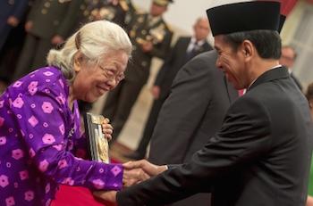 Presiden Anugerahkan Gelar Pahlawan Nasional
