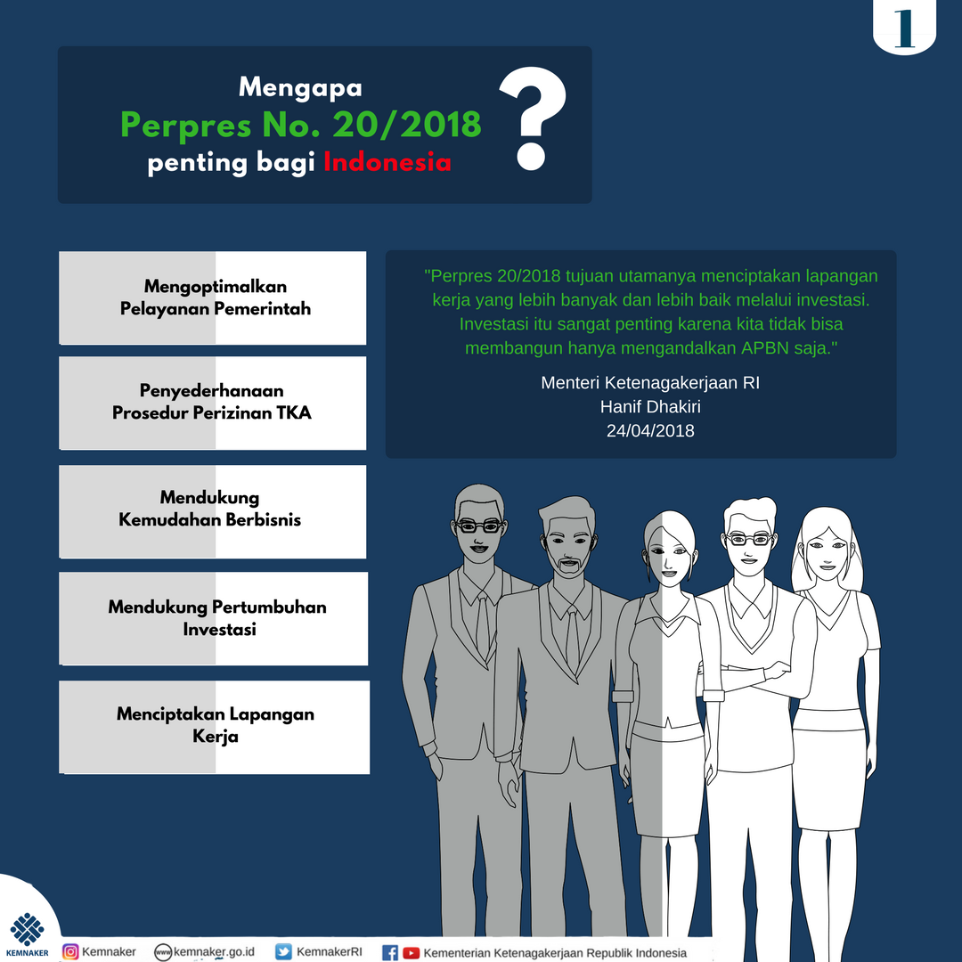 Perpres 20/2018 Penting untuk Genjot Investasi dan Ciptakan Lapangan Kerja