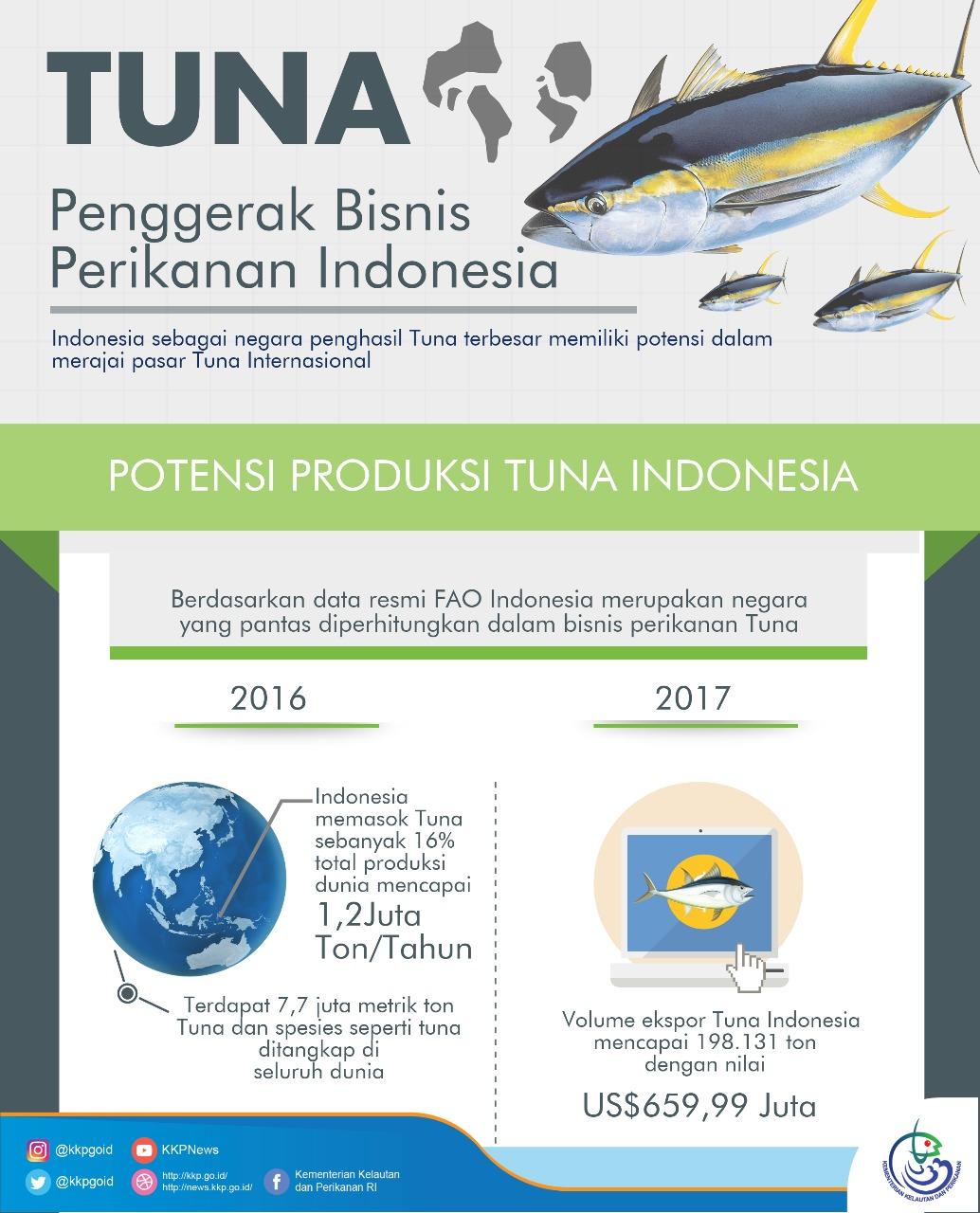 Pesona Tuna Sebagai Penggerak Bisnis Perikanan Indonesia