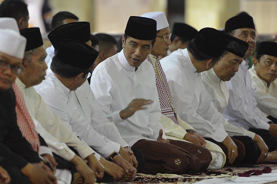 Sambut Ramadan 1439H, Presiden Sampaikan Puasa untuk Capai Derajat Takwa