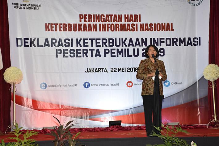 Kominfo Dorong Komitmen Parpol Terapkan Keterbukaan Informasi
