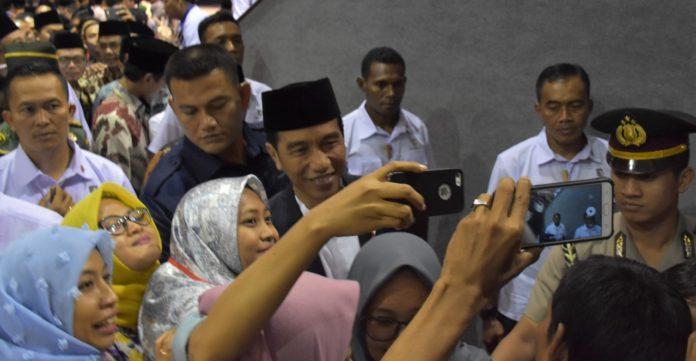 Presiden Ajak Masyarakat Optimistis Hadapi Tantangan Menjadi Negara Besar