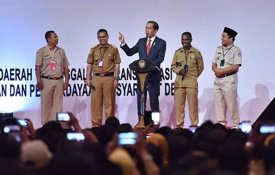 Presiden Minta Kepala Desa Ingatkan Warga Soal Kemajemukan Indonesia