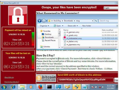Serangan VIrus Ransomware di PC