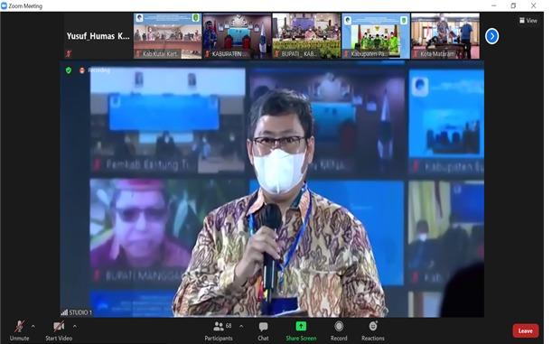 Direktur LAIP Kominfo Smart City