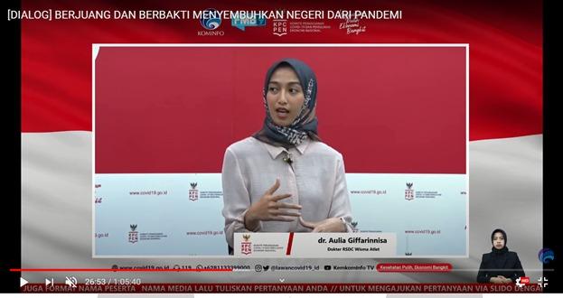 Dokter Aulia Giffarinnisa KPC PEN