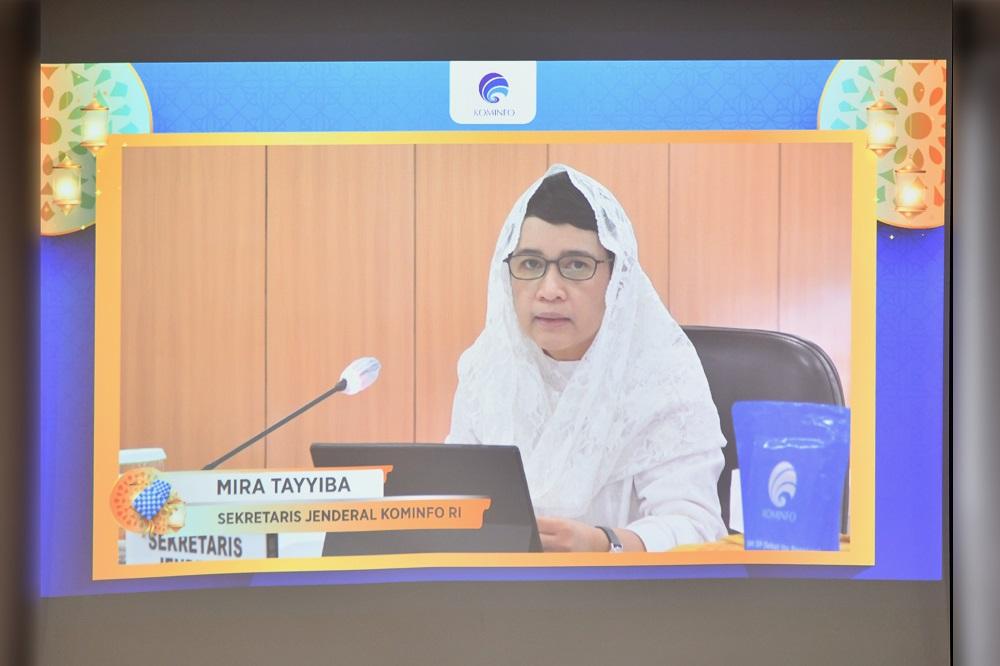 Halal Bihalal Sekjen Kominfo 2