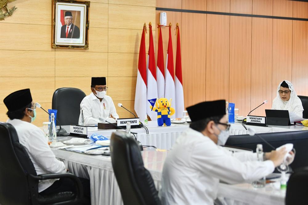 Halal Bihalal Sekjen Kominfo 3