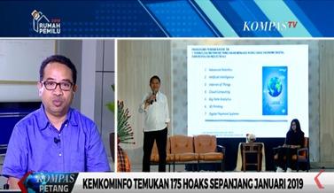 Kominfo temukan 175 hoak selama Januari 2019