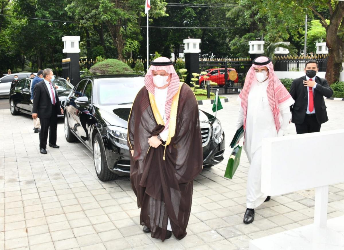 Menkominfo Dubes Arab 5