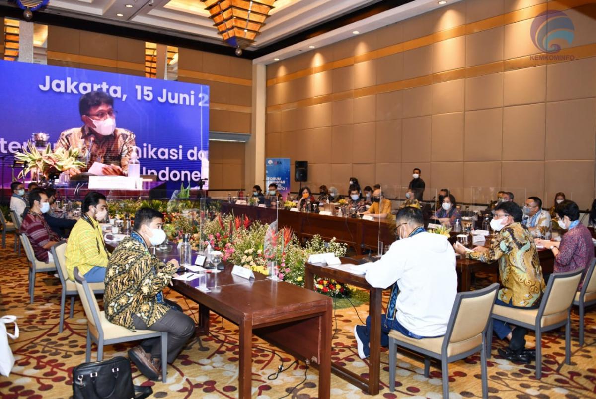 Menkominfo Forum Ekodig II