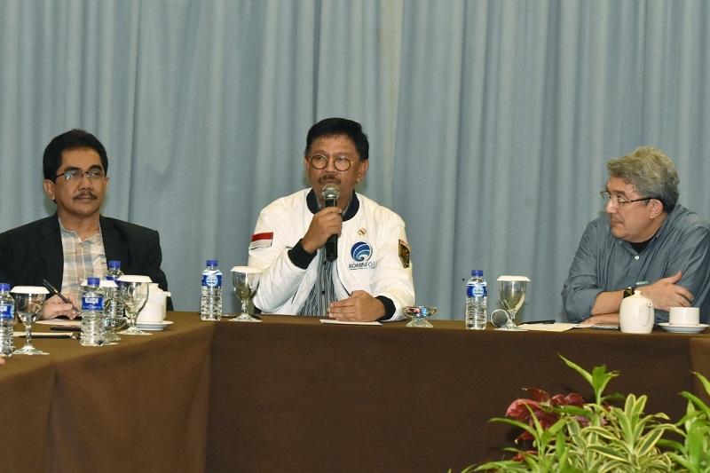Menkominfo didampingi Dirjen IKP pada Forum Pemred HPN 2020