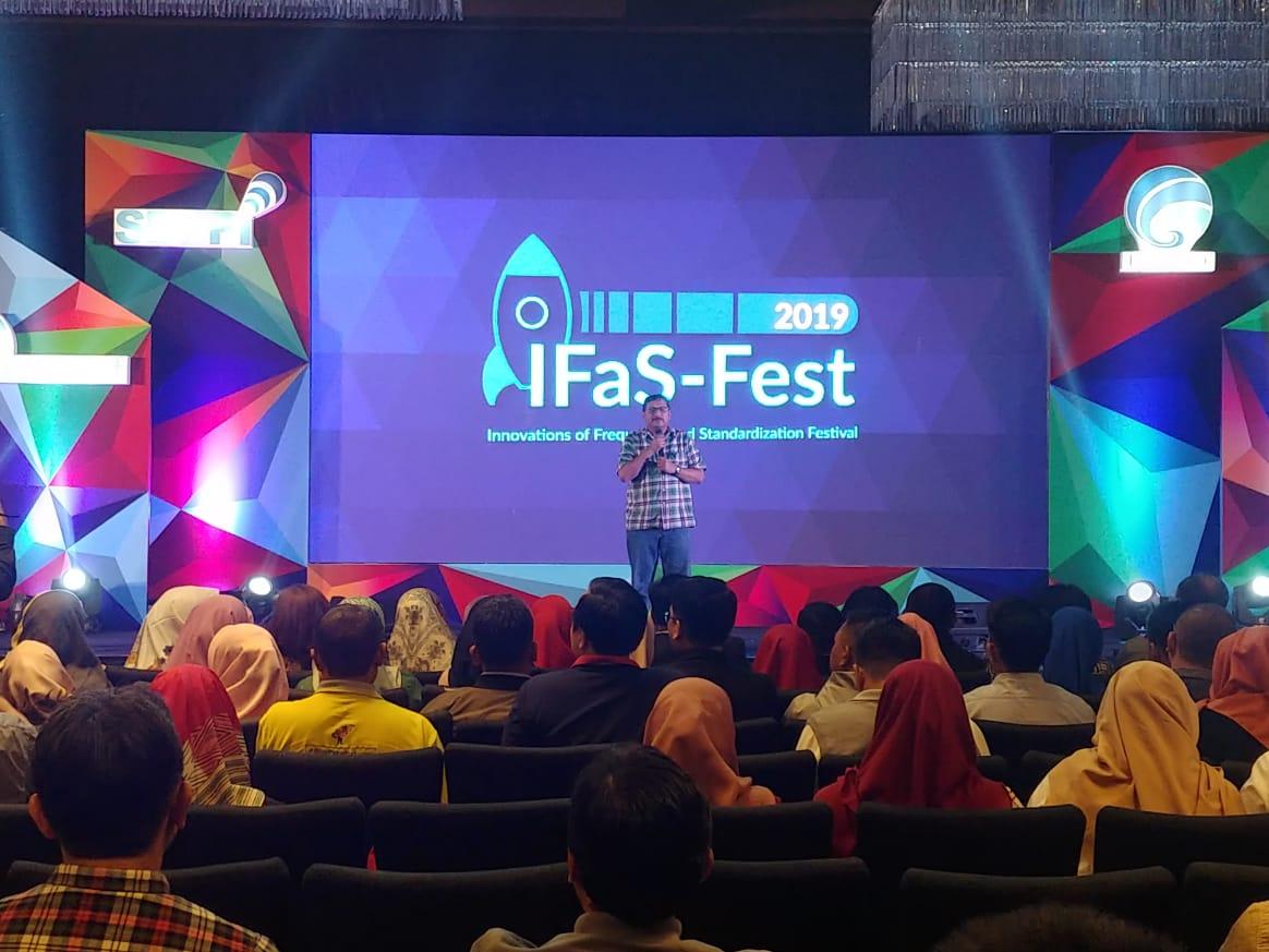 Sambutan Dirjen SDPPI pada IFaS-Fest 2019