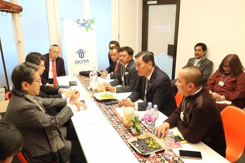 Sejumlah Menteri kabinet Indonesia maju di acara WEF 2020 Davos