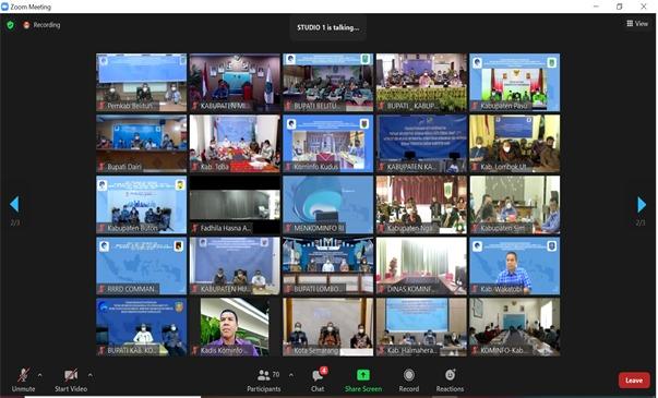 Webinar Smart City Kominfo
