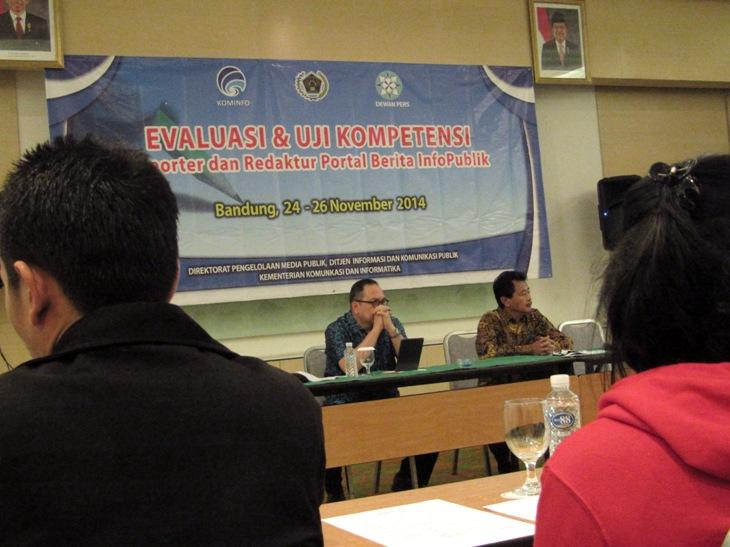 Ditjen IKP Gelar Evaluasi dan Uji Kompetensi Redaktur dan Reporter