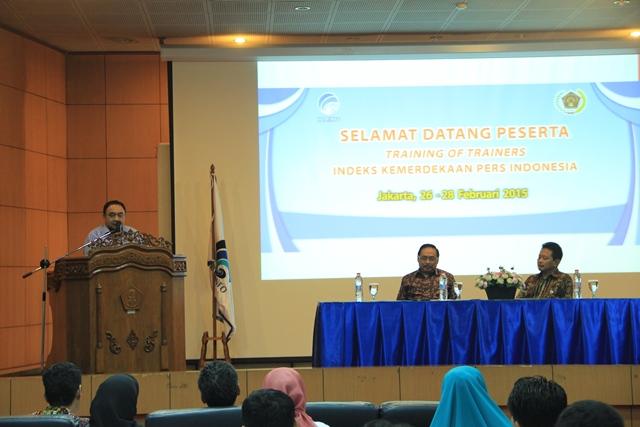 Kebebasan Pers di Indonesia Sudah Sangat Dirasakan Terbuka.