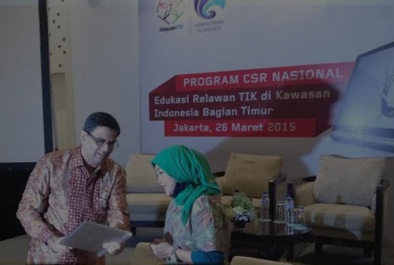 Kemkominfo Apresiasi CSR Lenovo Sebarkan Edukasi Internet di Indonesia Bagian Timur