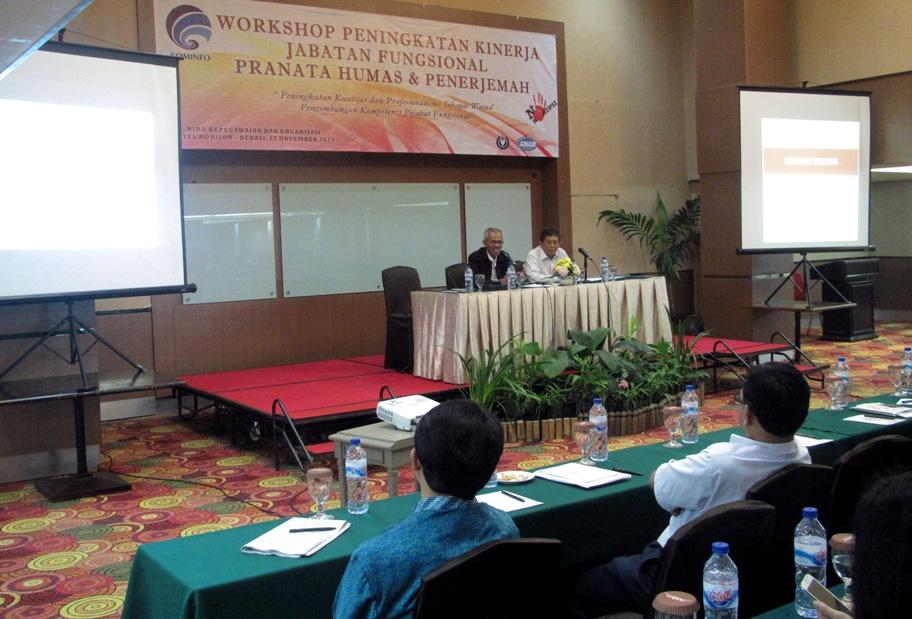 Kemkominfo Gelar Workshop Peningkatan Kinerja Jabatan Fungsional Pranata Humas