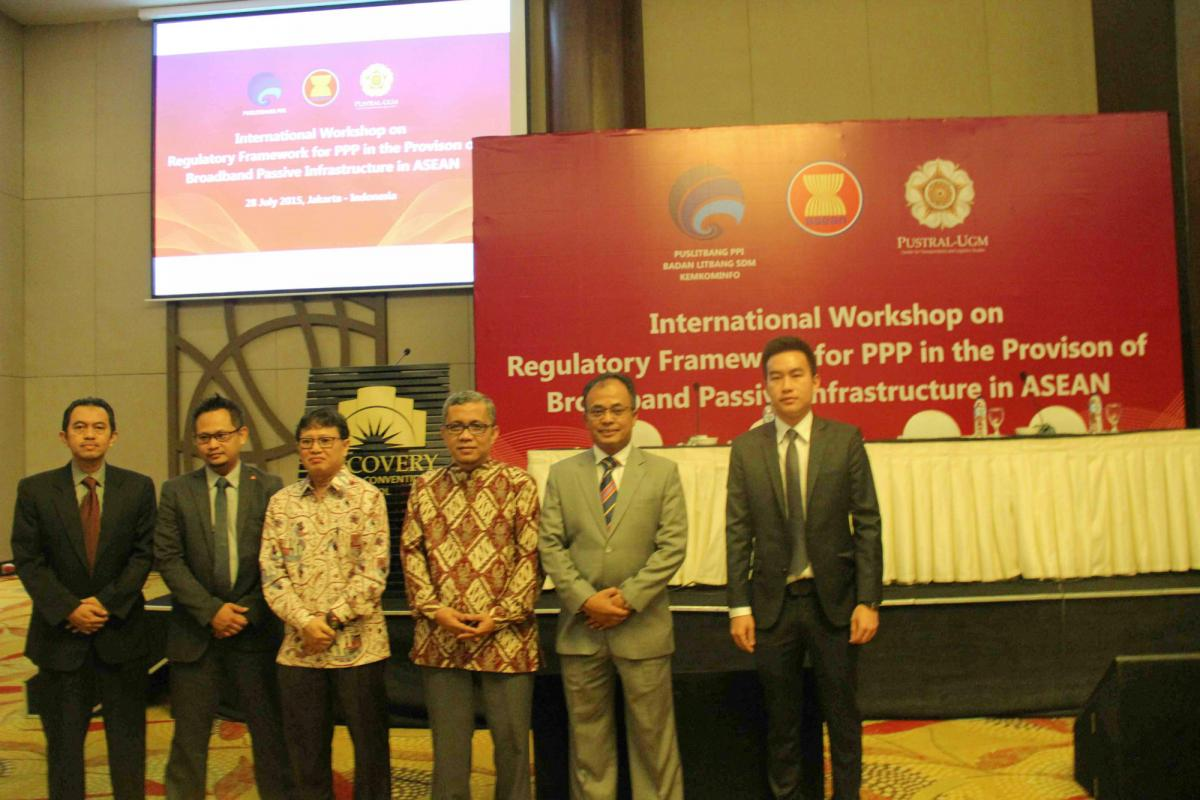 "Kepala Balitbang SDM Kominfo Buka Workshop Internasional ""Regulatory Framework for PPP in the Provision of Broadband Passive Infrastructure in ASEAN"""