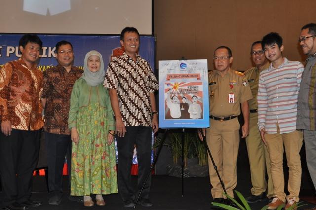 Kominfo Adakan Diskusi Publik dan Launching Buku Kenali Sejarahmu Raih Masa Depanmu