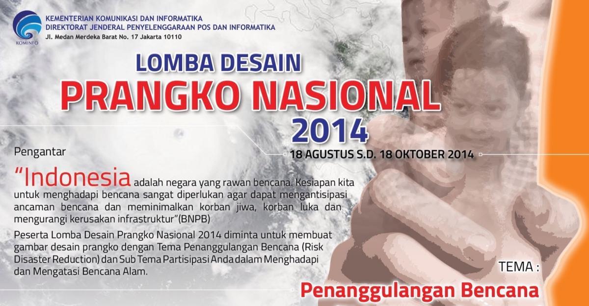 Nominasi Pemenang Lomba Desain Prangko Nasional Tahun 2014