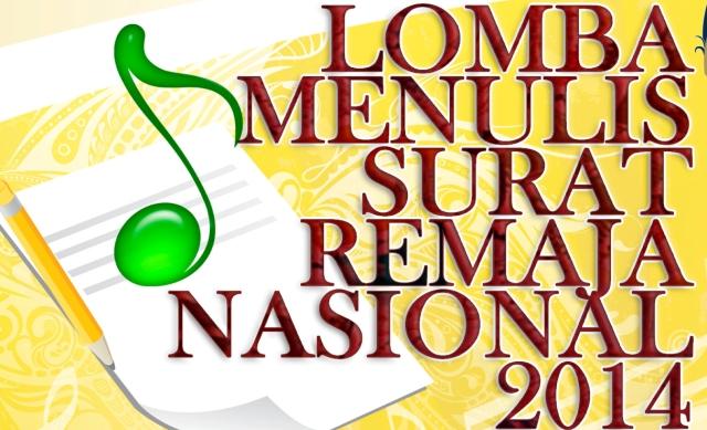 Lomba Menulis Surat Remaja Nasional 2014
