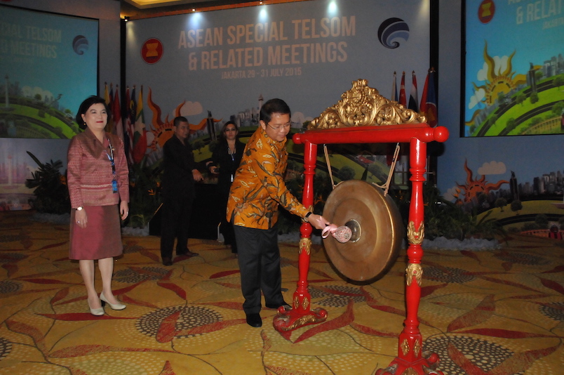 Menkominfo Membuka Special Meeting Of The ASEAN Telecommunications and Information Technology Senior Officials (Special Telsom)