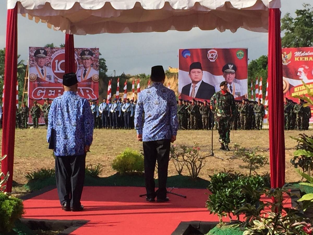 Menkominfo Pimpin Upacara Harkitnas Ke-107 di Balikpapan