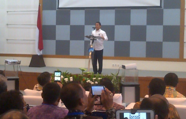 Menteri Rudiantara Buka Rakornas Kominfo 2014