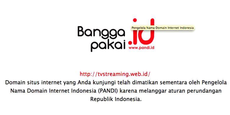 Pandi Suspend Dua Domain .id Atas Saran PPNS Kemkominfo