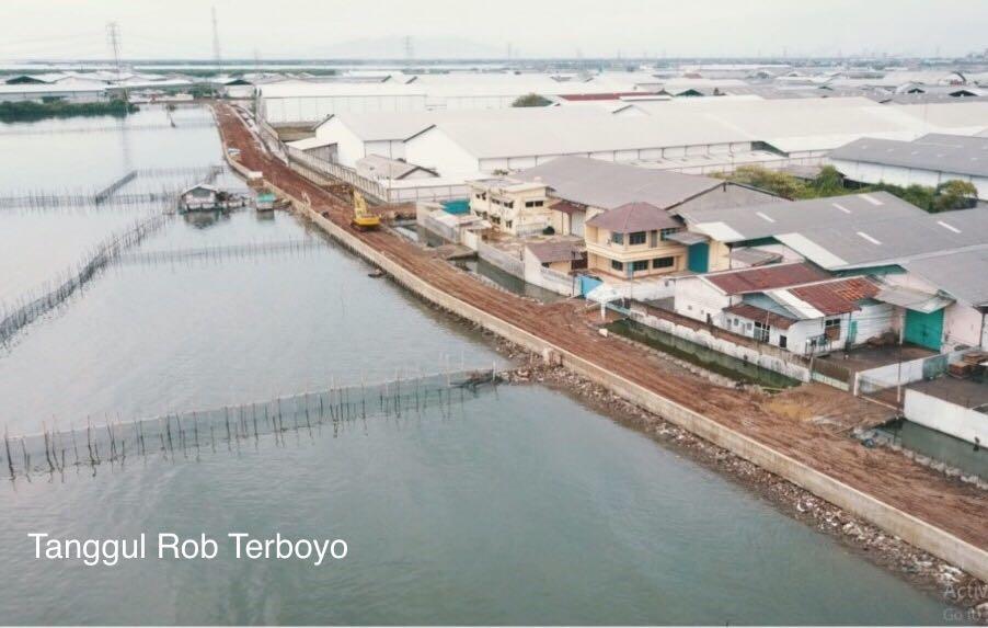 Kementerian PUPR Tangani Banjir dan Rob Kota Semarang (5)