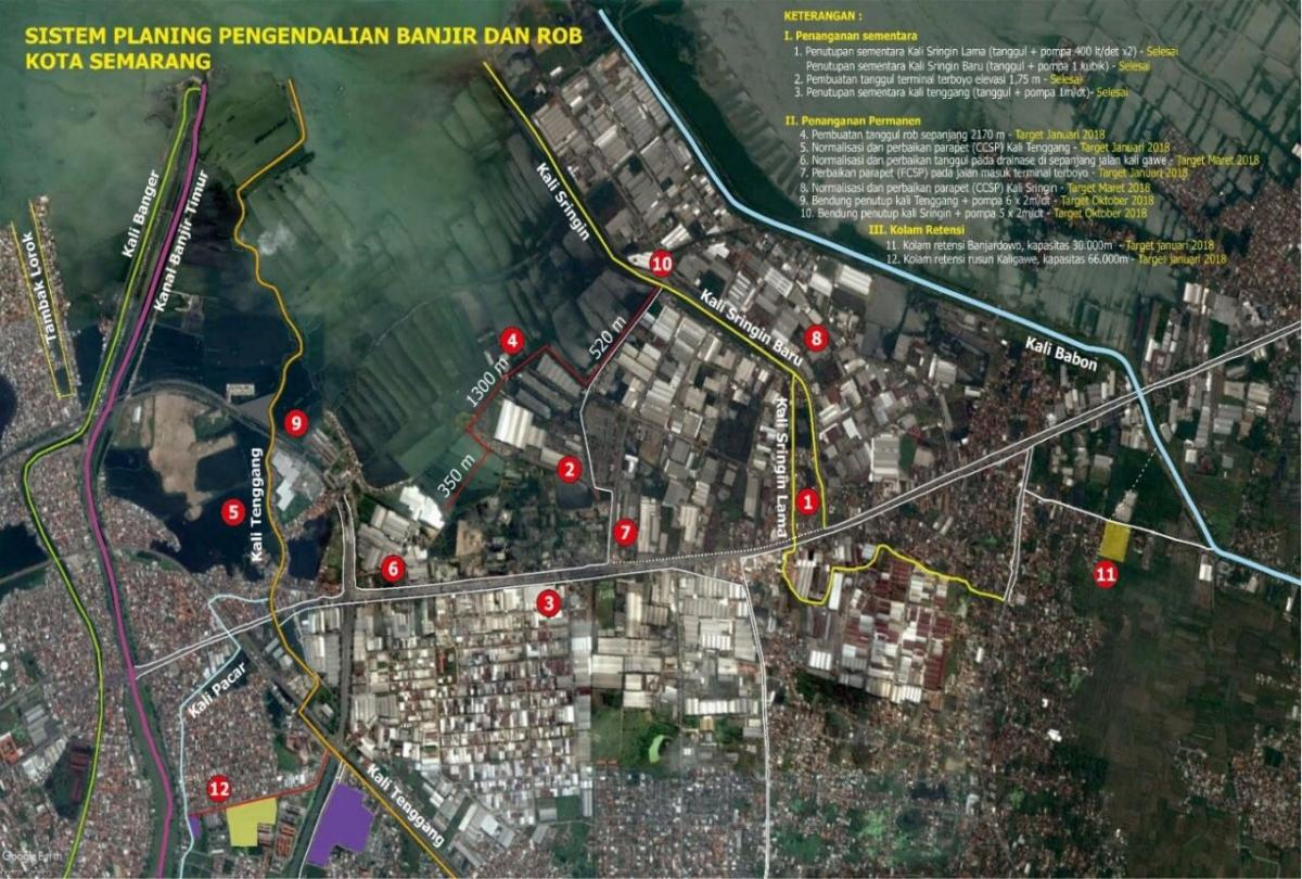 Kementerian PUPR Tangani Banjir dan Rob Kota Semarang (6)