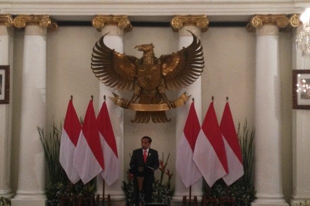 Pesan Jokowi kepada Para Menteri 'Indonesia adalah Negara Besar'