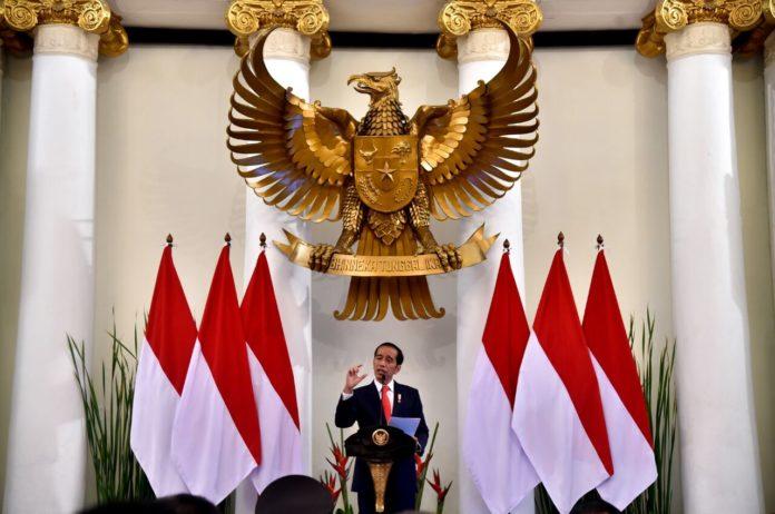 Pidato Raker Jokowi di Gd Pancasila