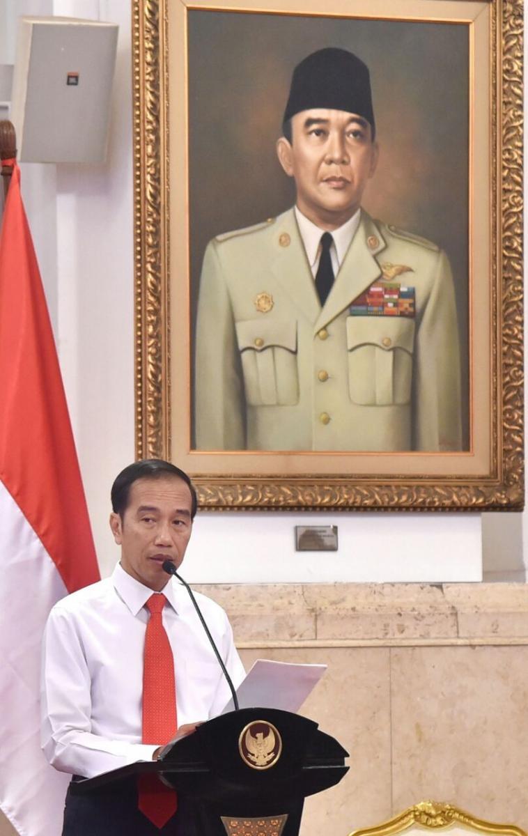 Presiden Tegaskan 2019 Pemerintah Fokus Pada Pembangunan SDM (1)
