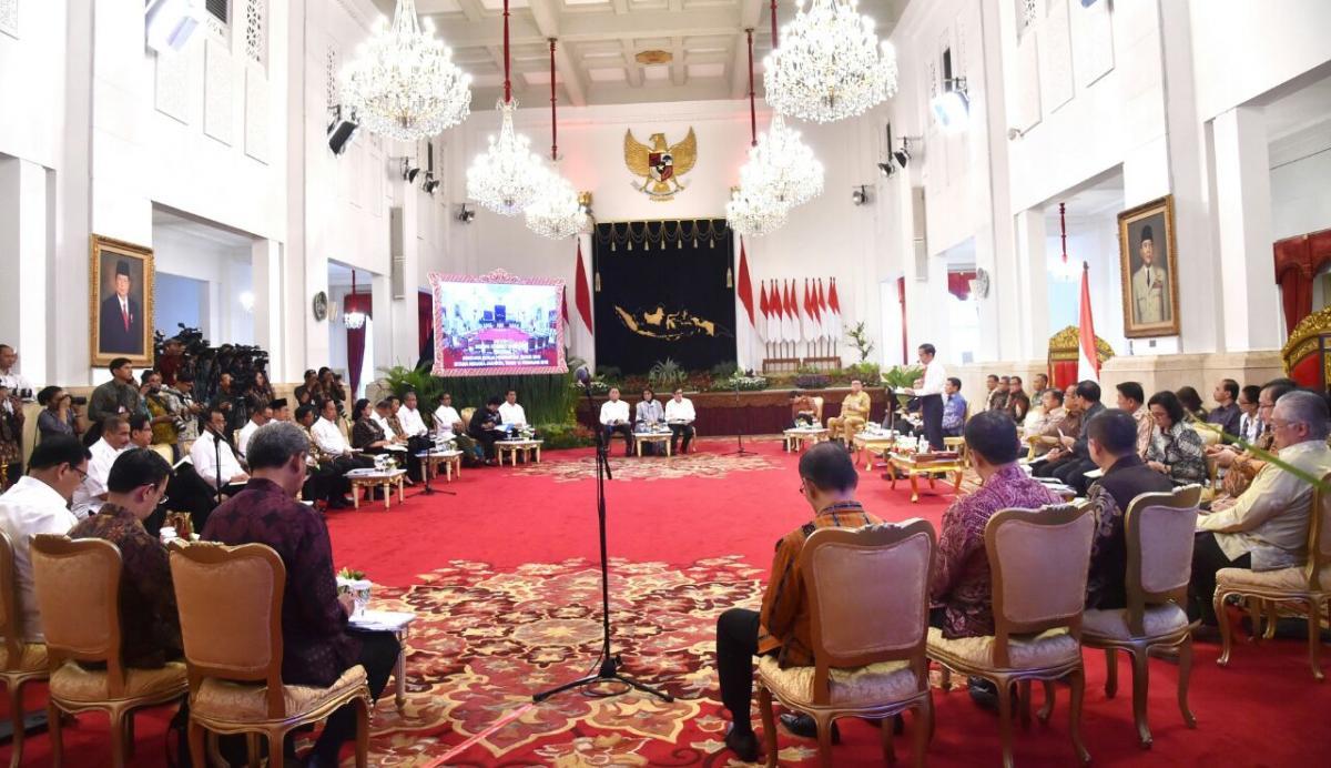 Presiden Tegaskan 2019 Pemerintah Fokus Pada Pembangunan SDM (2)