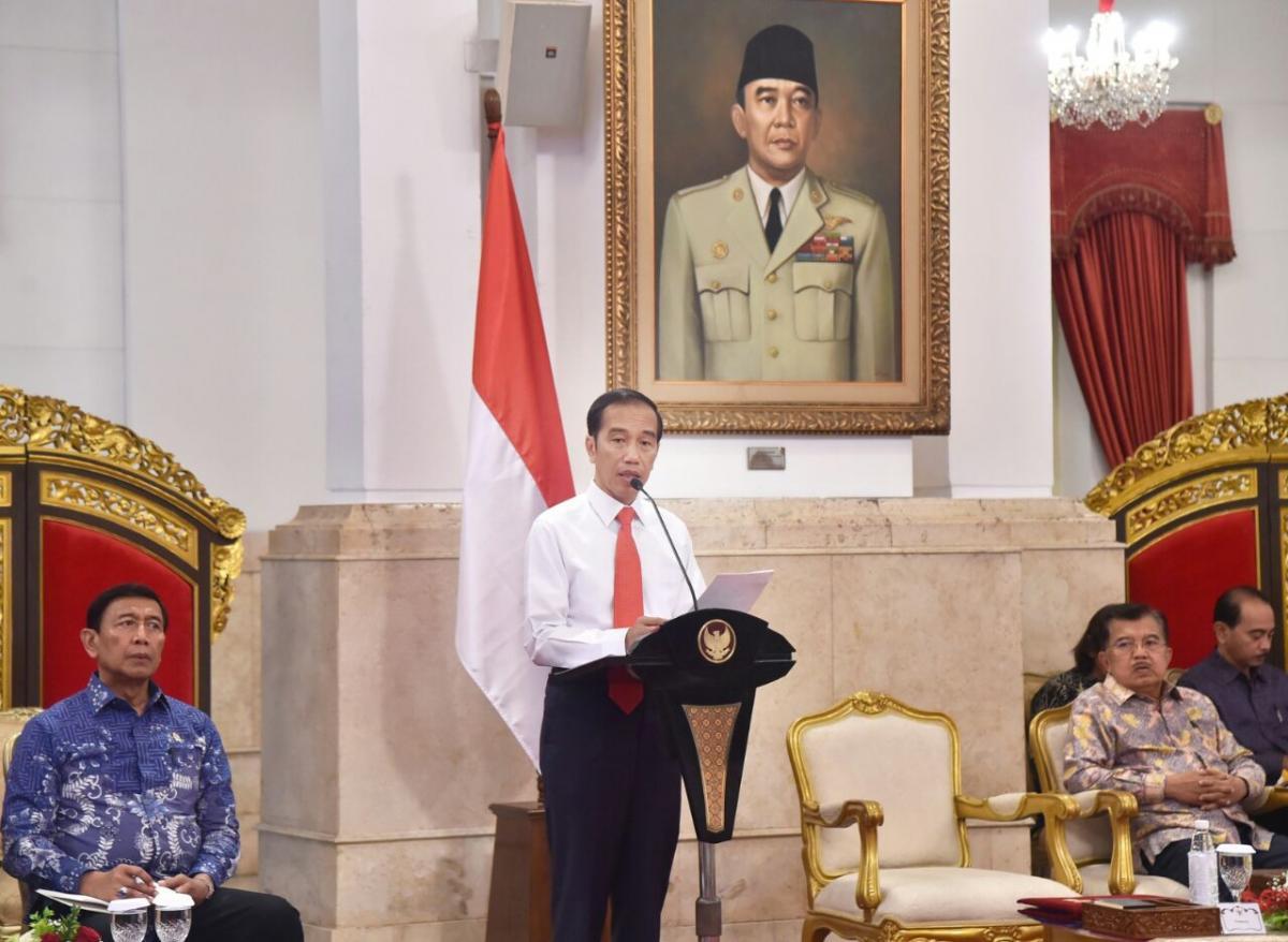 Presiden Tegaskan 2019 Pemerintah Fokus Pada Pembangunan SDM (3)