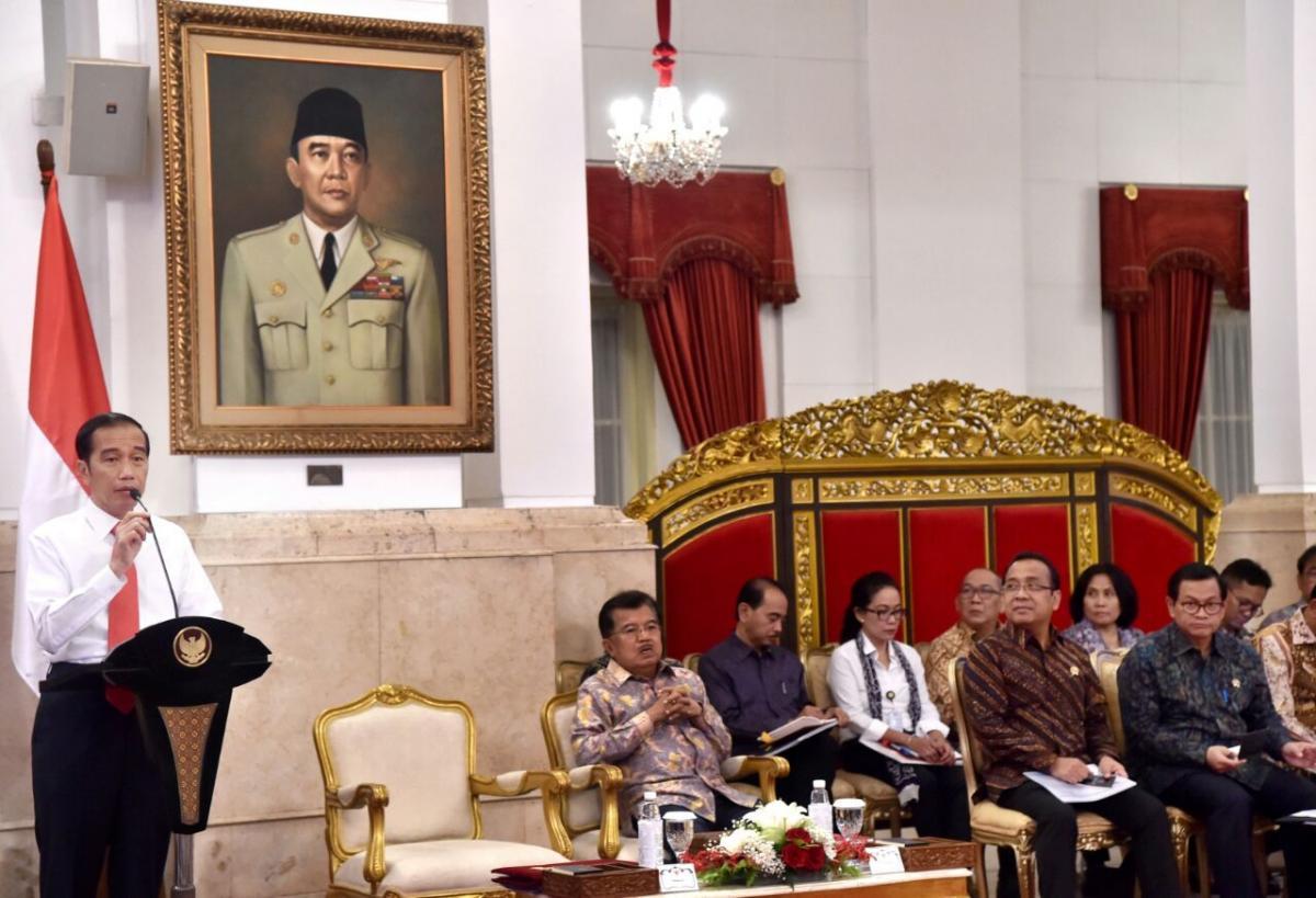 Presiden Tegaskan 2019 Pemerintah Fokus Pada Pembangunan SDM (4)